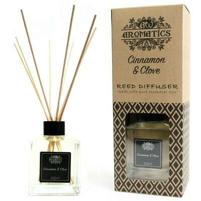 Cinnamon & Clove Essential Oil Reed Diffuser 200 ml
