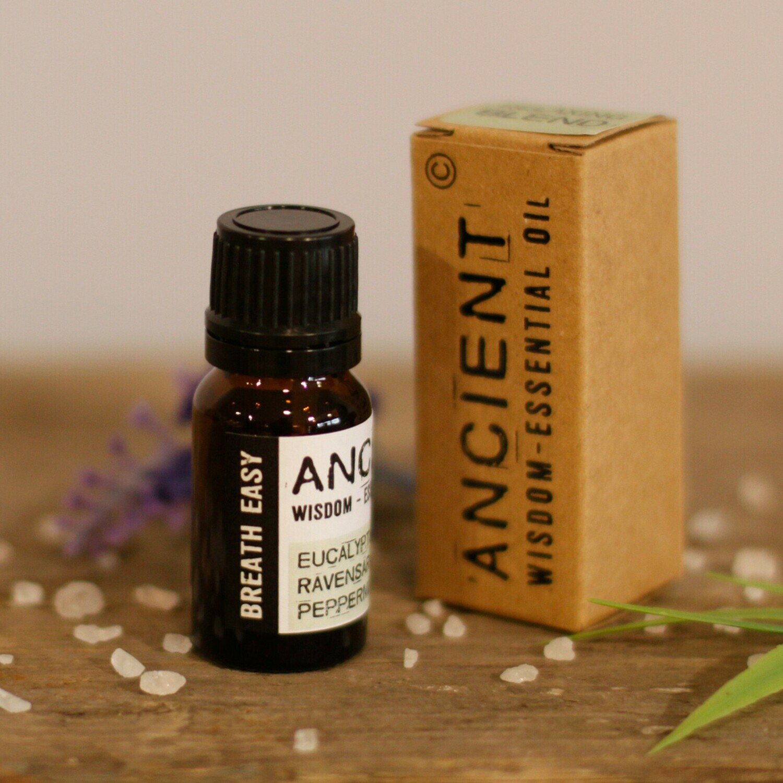 Breathe Easy Premium Essential Oil Blend - Boxed - 10ml