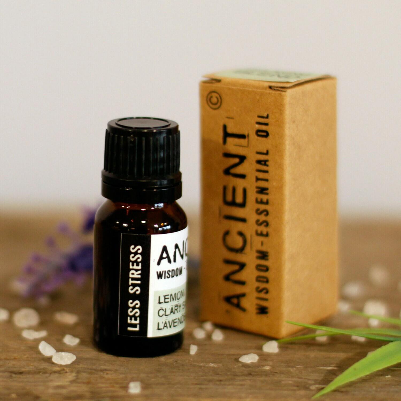 Less Stress Premium Essential Oil Blend - Boxed - 10ml