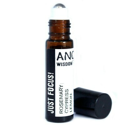 Roll On Essential Oil Blend - Just Focus! 10 ml