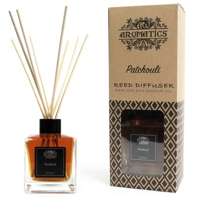 Patchouli Essential Oil Reed Diffuser 200 ml