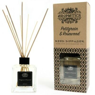 Petitgrain & Rosewood Essential Oil Reed Diffuser 200 ml