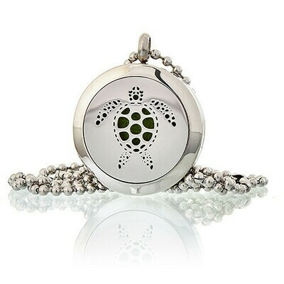 Aromatherapy Diffuser Necklace - Turtle