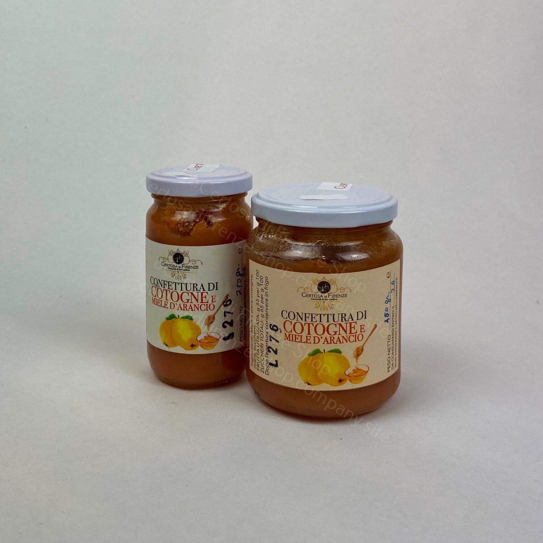 Confettura di Cotogne e miele d'arancio