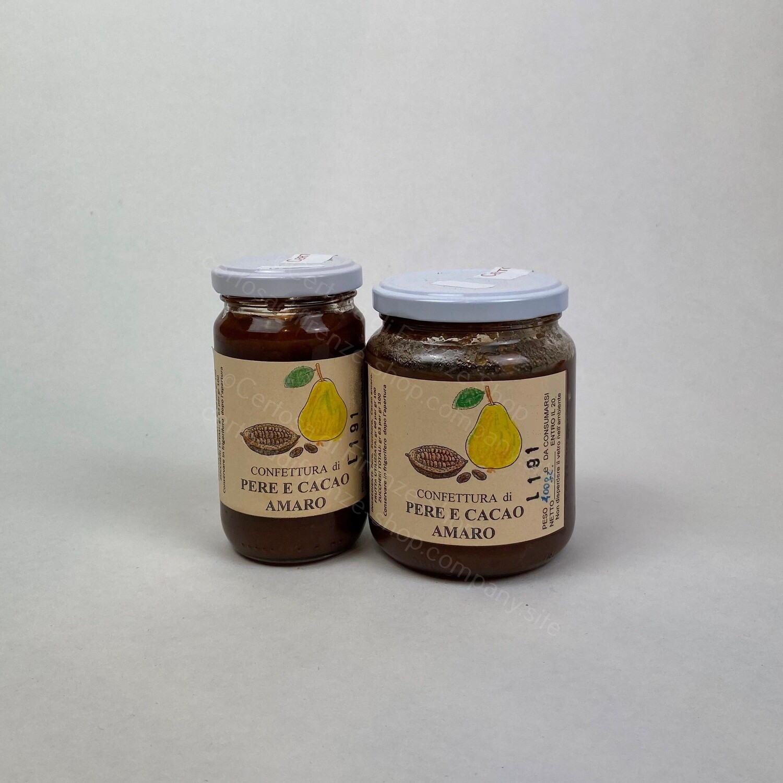 Confettura di Pere e Cacao amaro