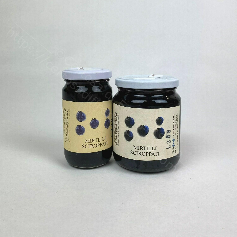 Mirtilli sciroppati
