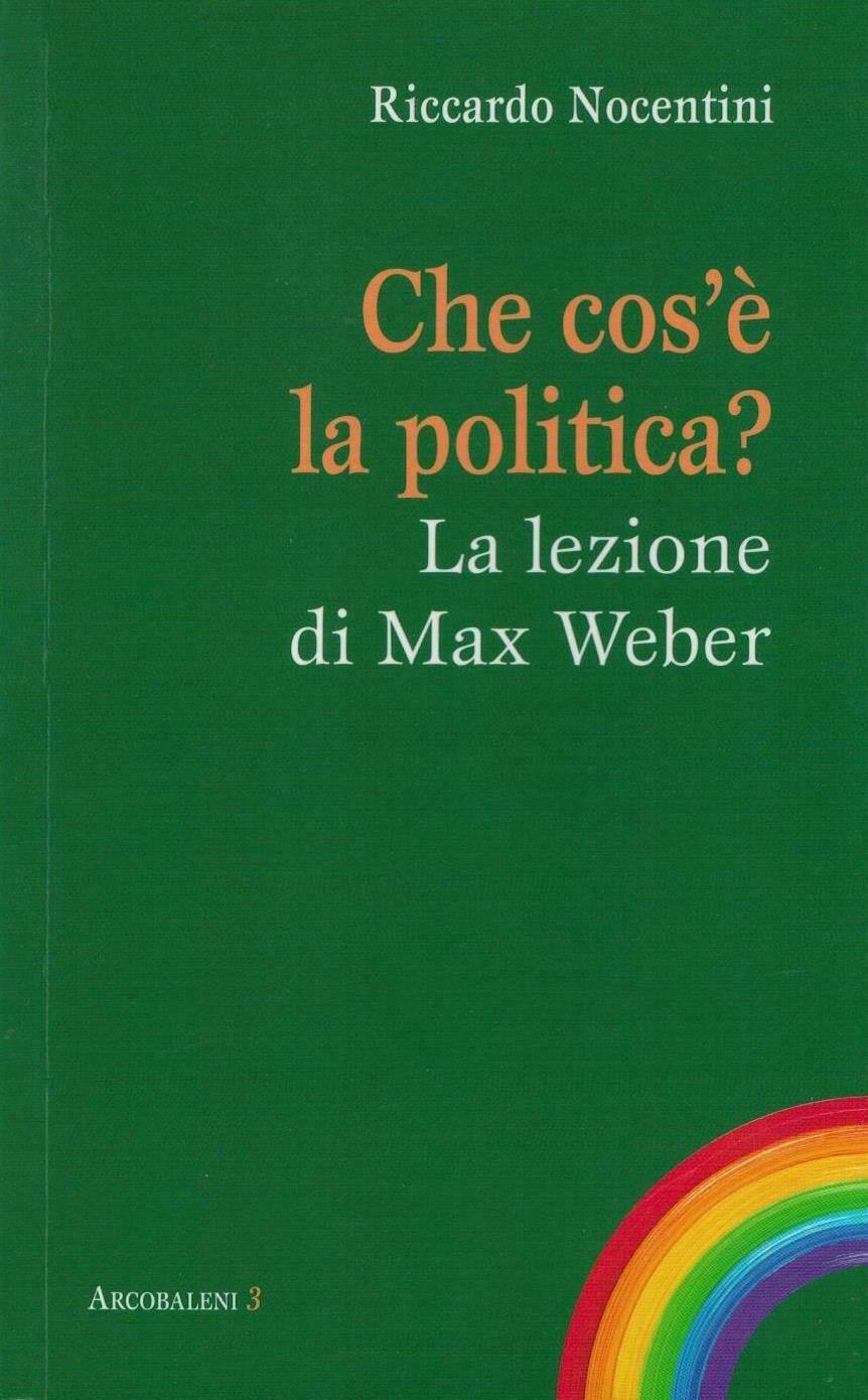 Che cos'è la politica? - La lezione di Max Weber (R. Nocentini)