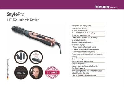 Beurer HT 50 hot air brush