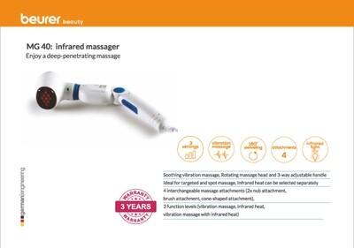 Beurer MG 40 infrared massager