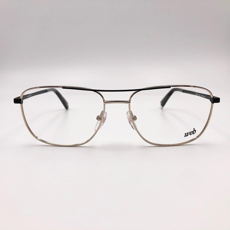 Occhiale da vista in metallo uomo Web - 5318