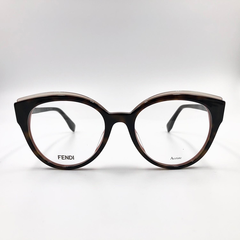 Occhiale da vista in acetato da donna Fendi - 0280