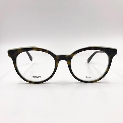 Occhiale da vista in acetato donna Fendi - 0249