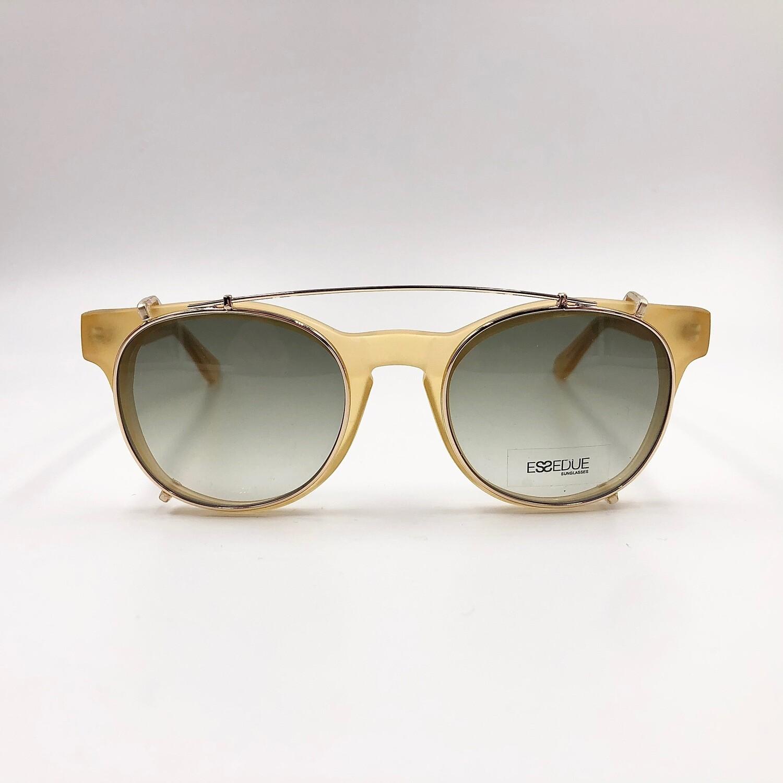 Occhiale da vista in acetato da uomo con clip on da sole Essequadro