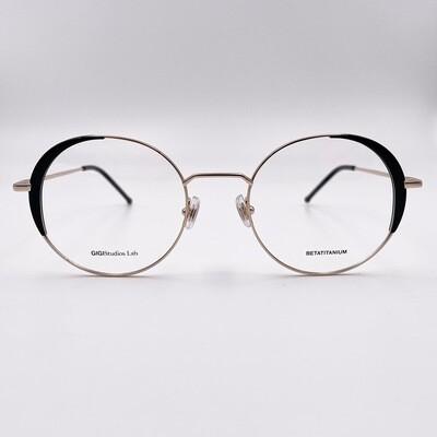 Occhiale da vista tondo in titanio da donna Gigi Studios - 8066/1