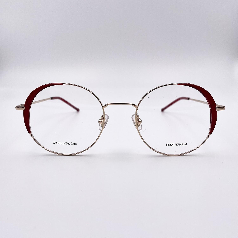 Occhiale da vista tondo in titanio da donna Gigi Studios - 8066/6