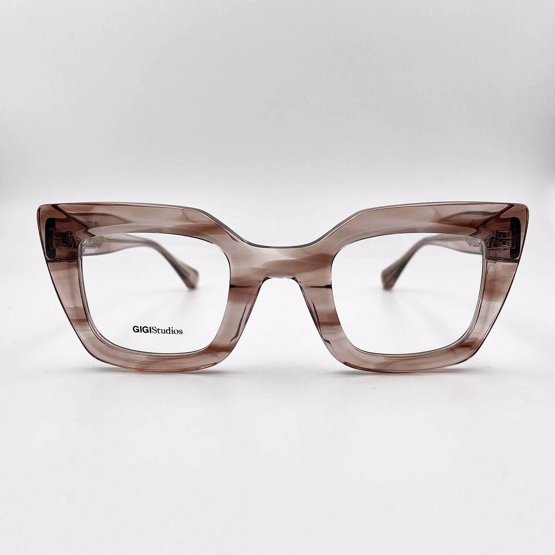 Occhiale da vista in acetato doppio da donna Gigi Studios - 6499/6