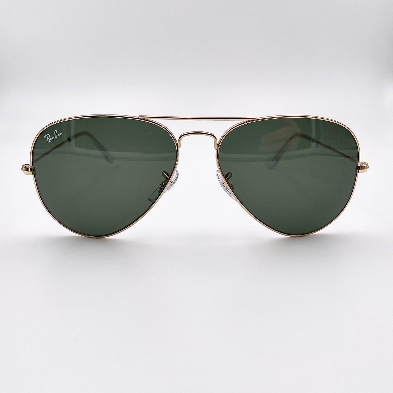 Ray Ban Aviator Large Metal occhiale da sole uomo in metallo - 3025