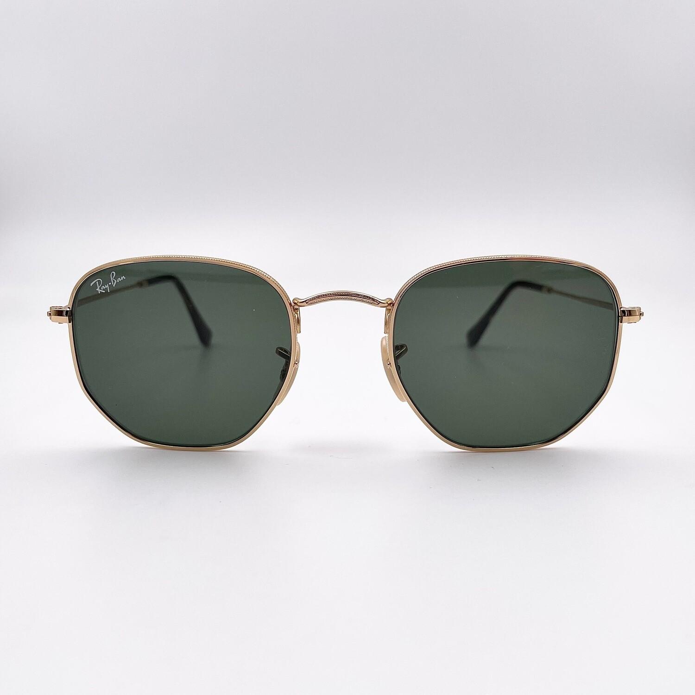 Ray Ban Hexagonal occhiale da sole in metallo - 3548 - N
