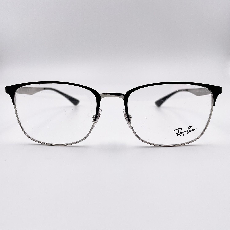 Occhiale da vista in metallo uomo Ray Ban - 6421