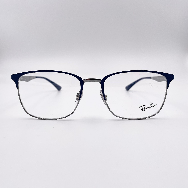 Occhiale da vista in metallo uomo - Ray Ban 6421