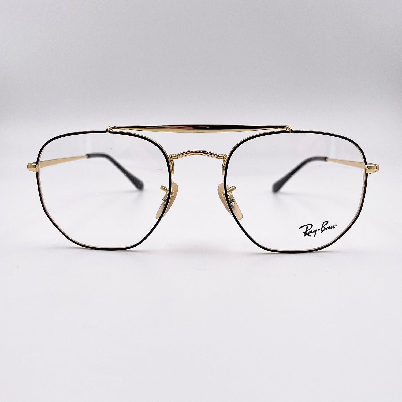Occhiale da vista in metallo da uomo - Ray Ban 3648v