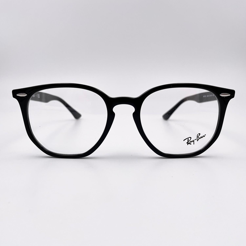Occhiale da vista Esagonale grande in acetato da uomo Ray Ban - 7151