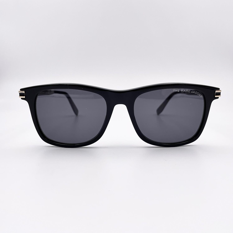 Occhiale da sole uomo in acetato nero Marc Jacobs -530/S