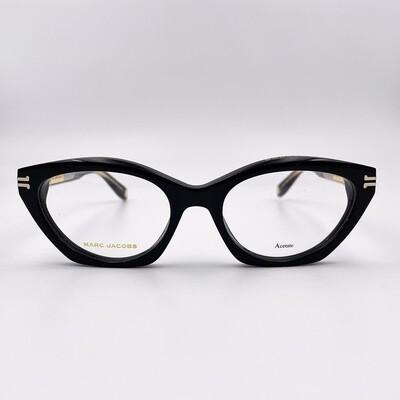 Occhiale da vista donna in acetato spesso nero Marc Jacobs - 1015
