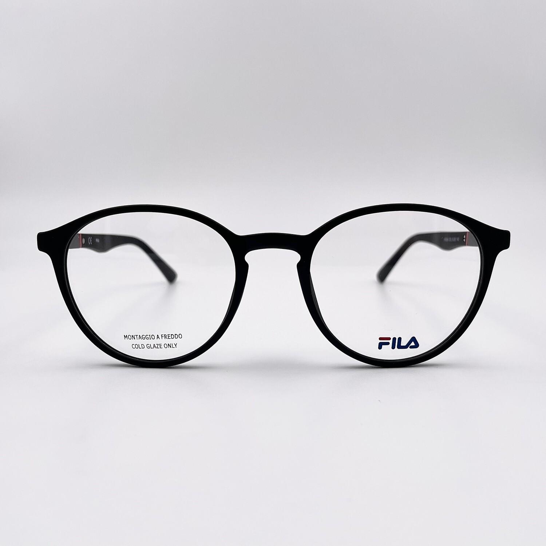 Occhiale da vista in acetato nero uomo Fila - 9324