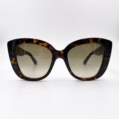 Occhiale da sole in acetato donna Gucci - GG0327S