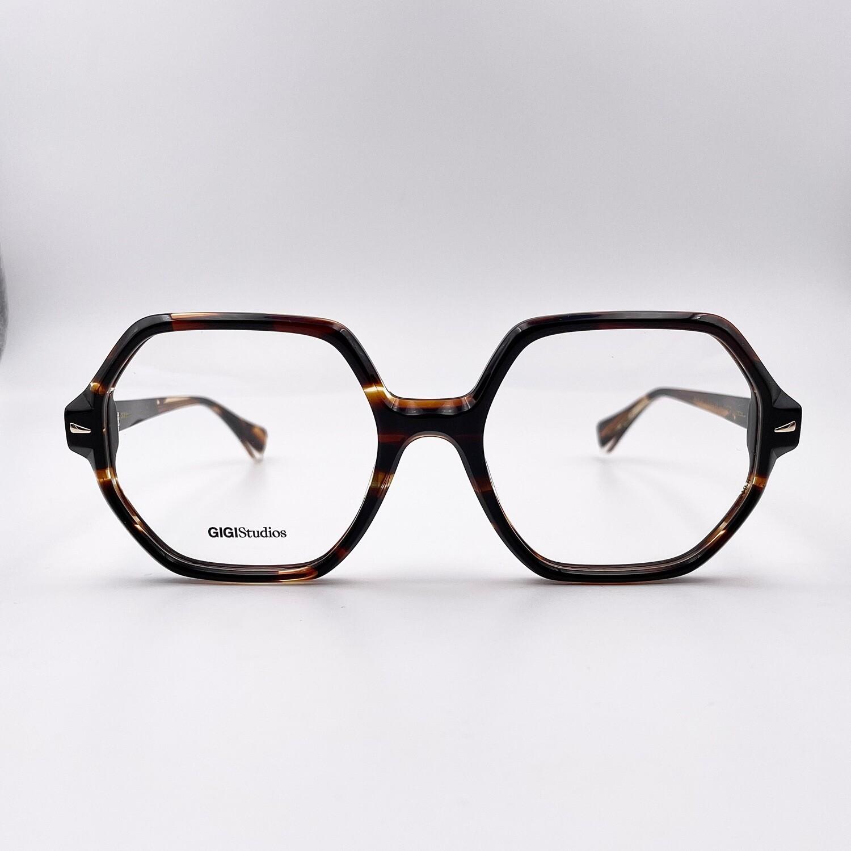 Occhiale da vista in acetato donna esagonale Gigi Studios - 6539/2
