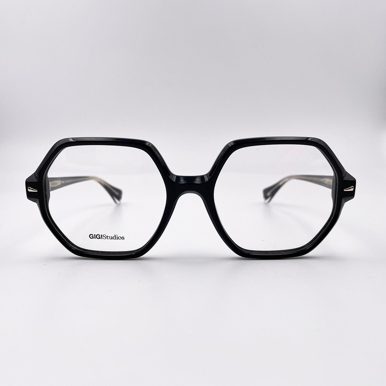 Occhiale da vista donna in acetato esagonale Gigi Studios - 6539/1