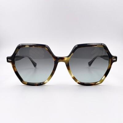 Occhiale da sole donna in acetato con forma esagonale ampia Gigi Studios - 6543/7