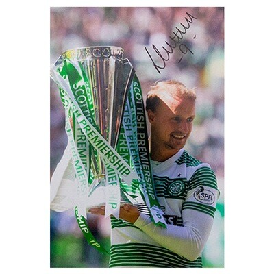 Leigh Griffiths Premiership Champions Signed Print