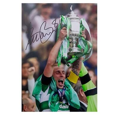 Scott Brown Celtic Scottish Cup Champions Signed Print