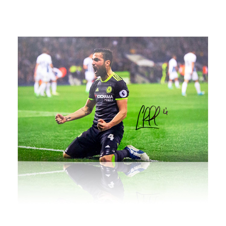 Cesc Fabregas Chelsea Signed Print