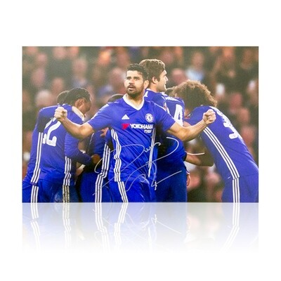 Diego Costa Chelsea FC Signed Print