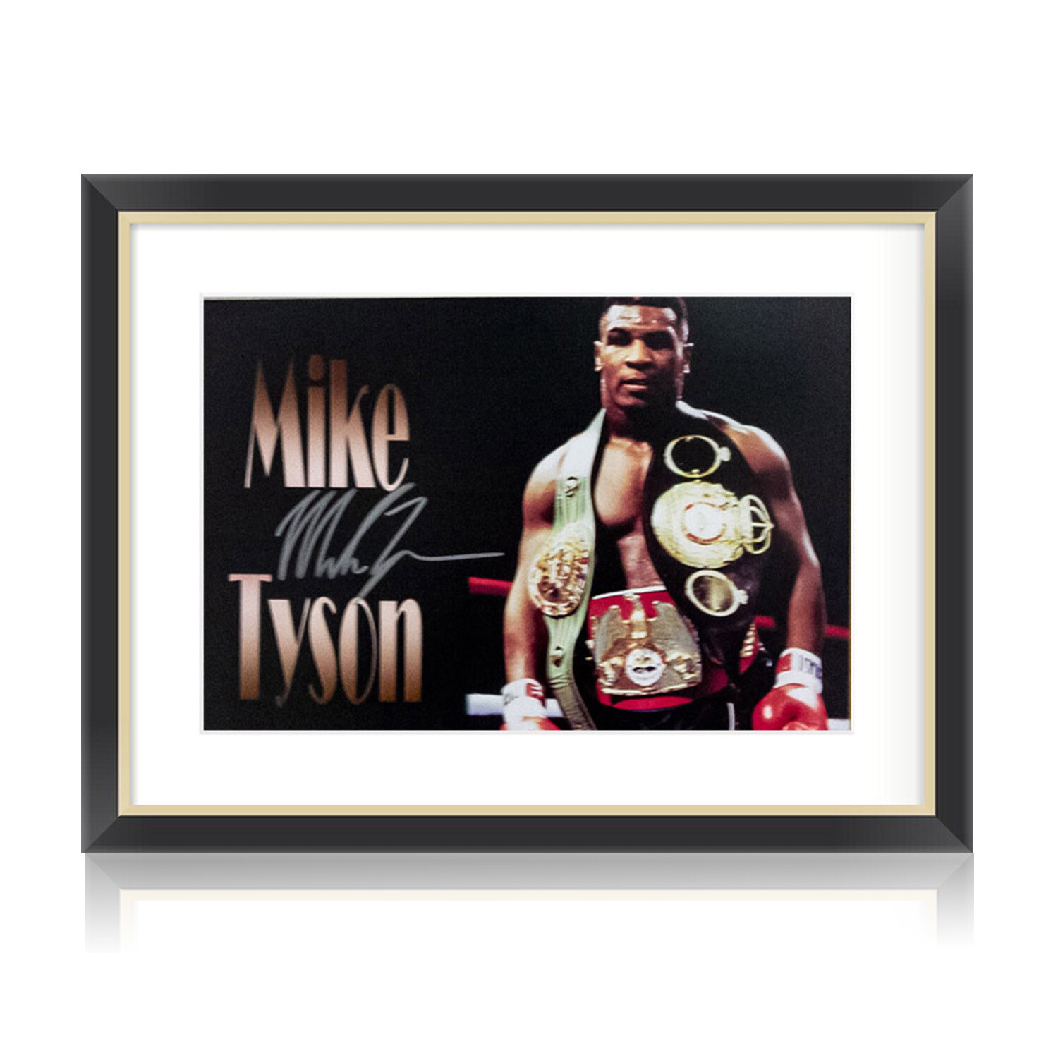 Mike Tyson Graphic Signed & Framed Print