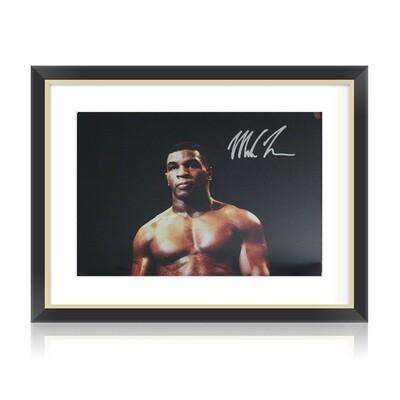 Mike Tyson Signed & Framed Print