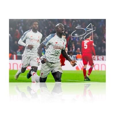 Sadio Mane Determination Signed Print