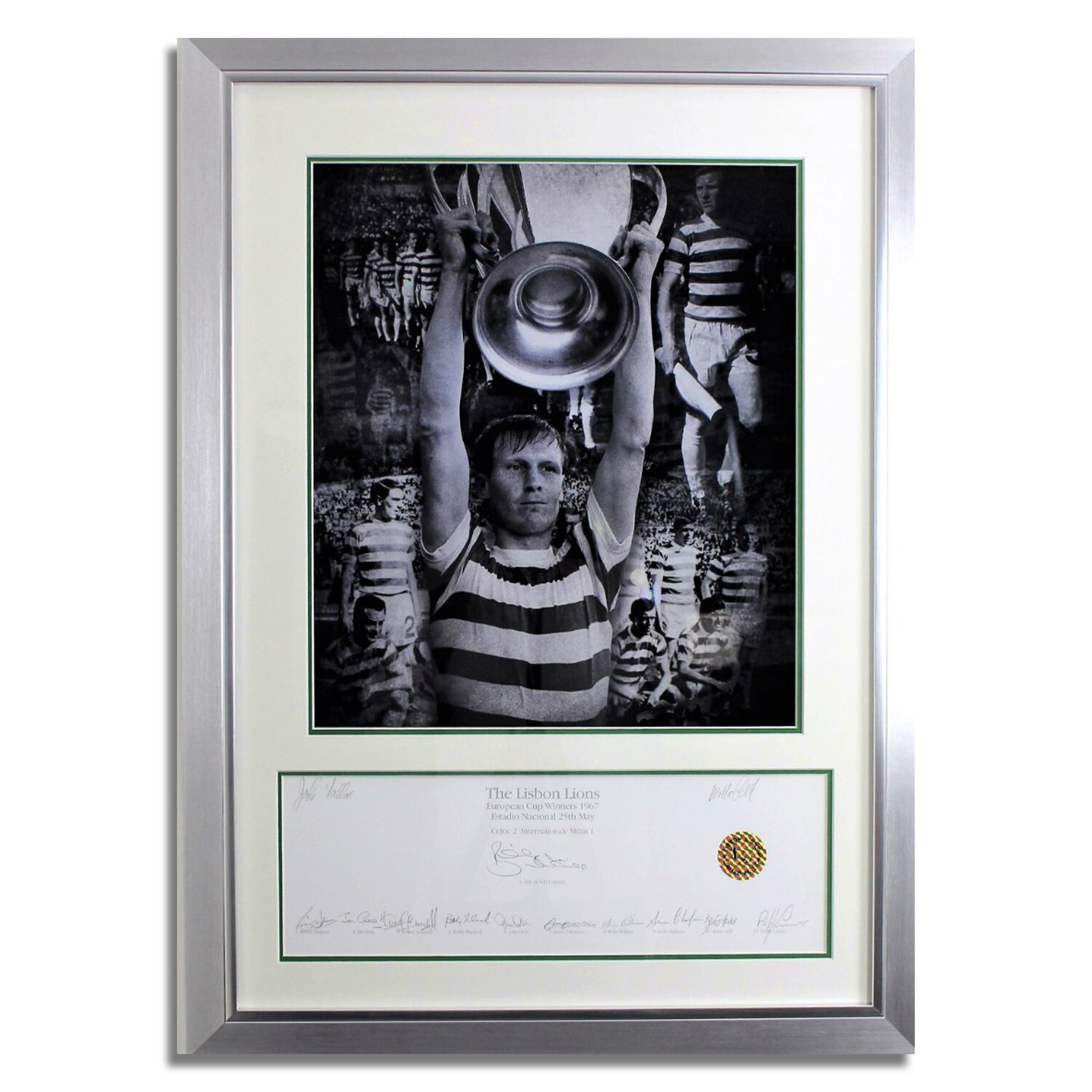 The Lisbon Lions Limited Edition Fully Signed Print