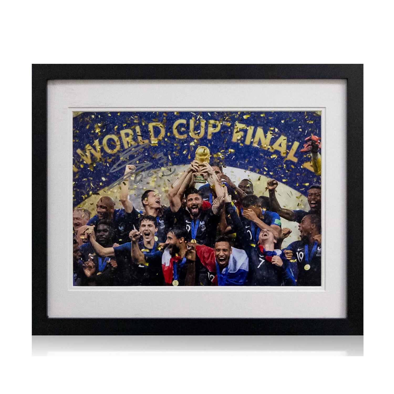 Olivier Giroud World Cup Signed & Framed Print