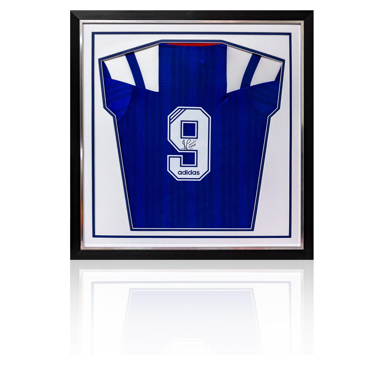 Ally McCoist Signed & Framed Rangers Adidas 1992-94 Shirt