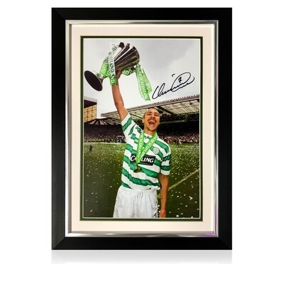 Official Henrik Larsson Collection King of Kings Signed Print