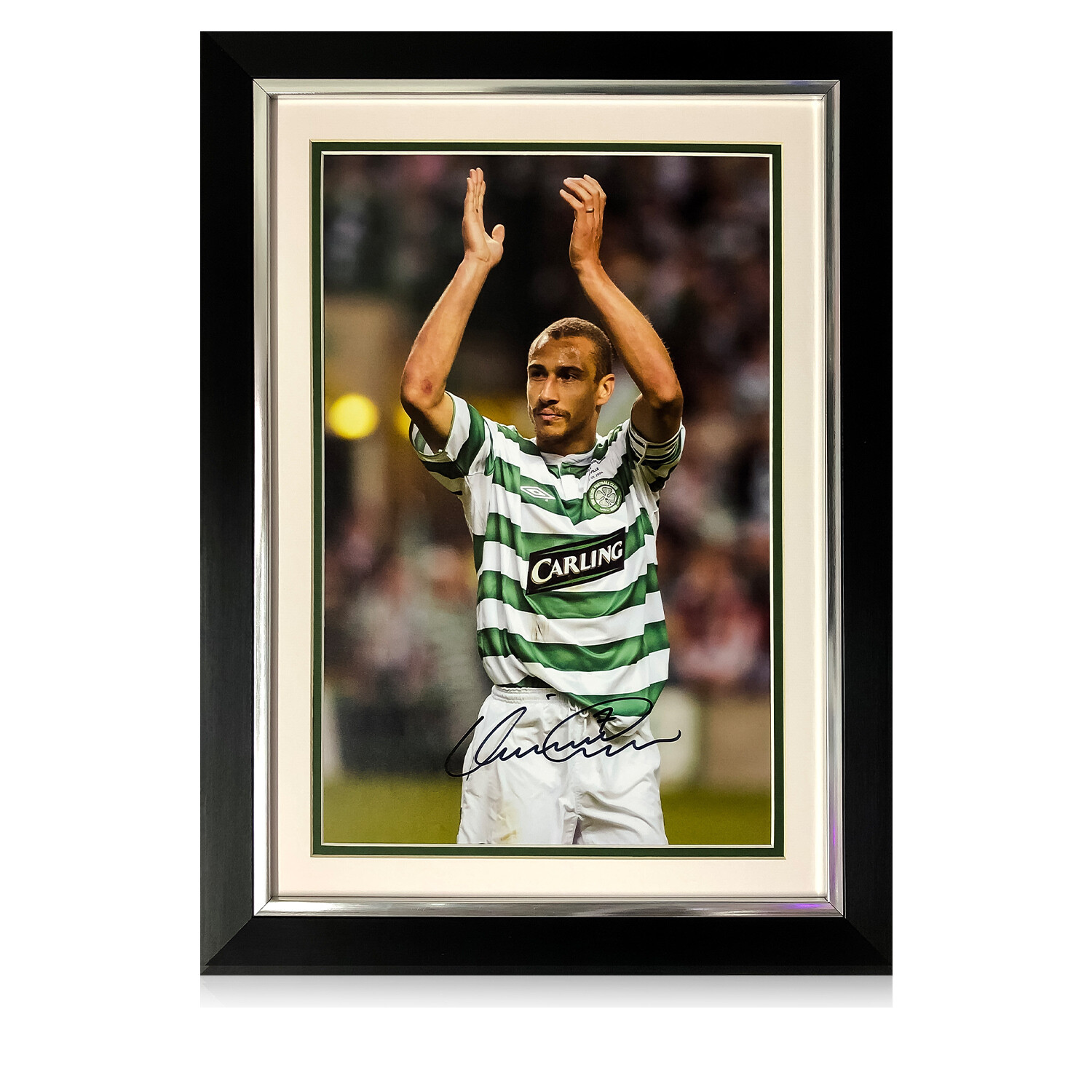Official Henrik Larsson Collection Farewell To Paradise Signed Print