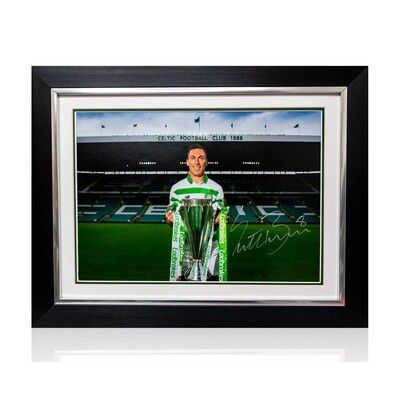Scott Brown Nine In A Row Signed & Framed Print
