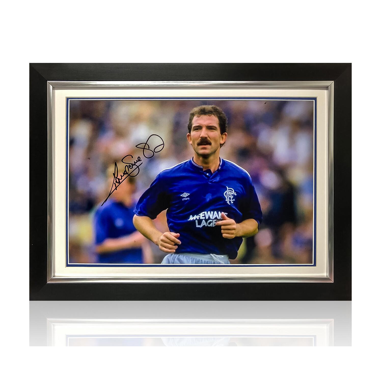 Graeme Souness at Rangers Signed Print