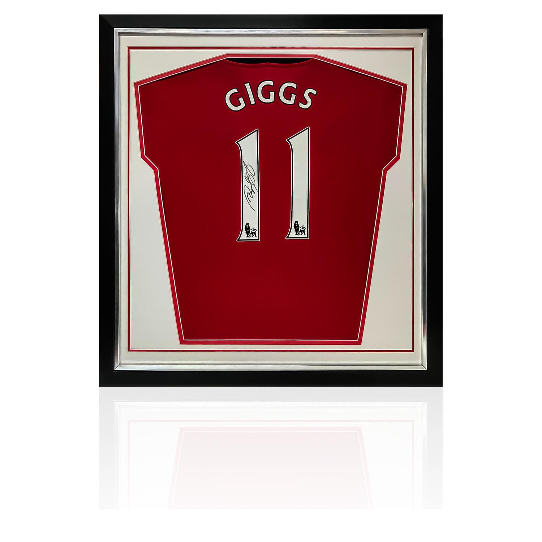 Ryan Giggs Signed & Framed Manchester United Shirt