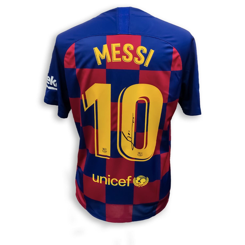 Lionel Messi Signed Barcelona 2019/20 Shirt