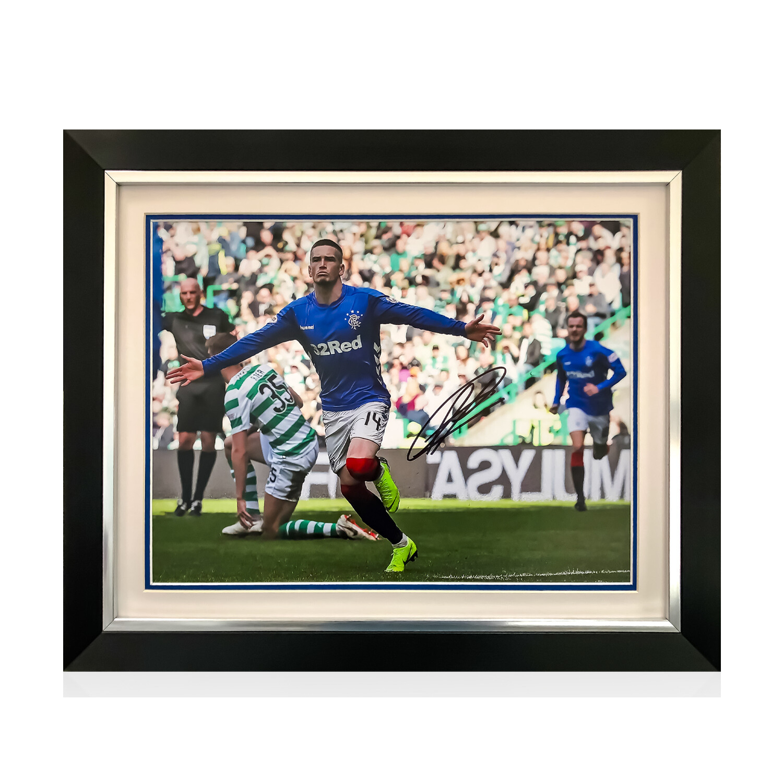 Ryan Kent Signed & Framed Print